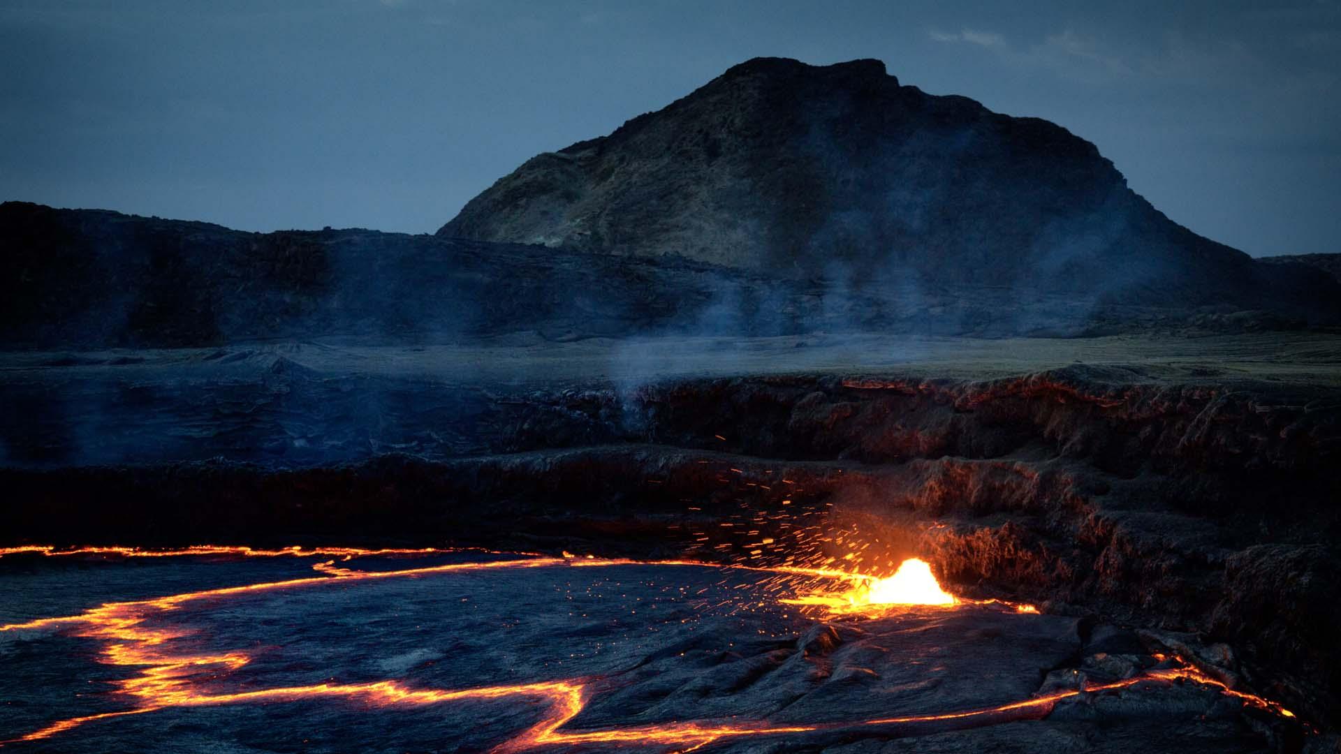 Ertale Volcano